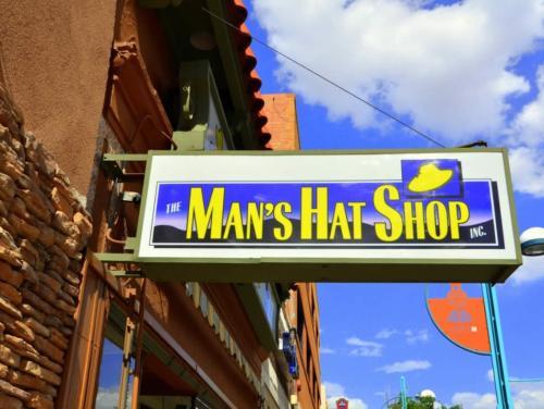the mans hat shop